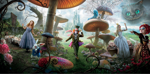 Анонс кинокартины Тима Бертона Алиса в стране чудес / Alice in Wonderland 2010